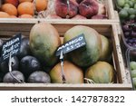 close up of fresh fruits in... | Shutterstock . vector #1427878322