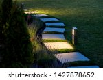 Marble Path Of Square Tiles...