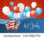 independence day theme.... | Shutterstock .eps vector #1427882792