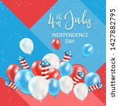 independence day theme.... | Shutterstock .eps vector #1427882795