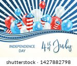 independence day theme.... | Shutterstock .eps vector #1427882798