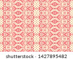 lace border. ikat seamless... | Shutterstock .eps vector #1427895482