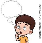 vector illustration of cartoon... | Shutterstock .eps vector #142791322