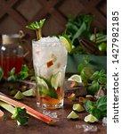 summer refreshing drink ... | Shutterstock . vector #1427982185