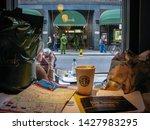 kensington  london  uk   april... | Shutterstock . vector #1427983295