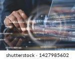 business and modern technology... | Shutterstock . vector #1427985602