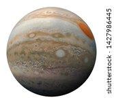 Full Disk Of Planet Jupiter...