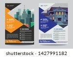 corporate business flyer poster ... | Shutterstock .eps vector #1427991182