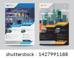corporate business flyer poster ... | Shutterstock .eps vector #1427991188