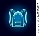backpack  bag outline icon in...
