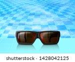 vector summer time poster...   Shutterstock .eps vector #1428042125