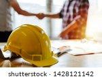 Construction Worker Team Hands...