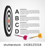 infographic template for... | Shutterstock .eps vector #1428125318
