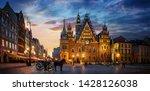 Wroclaw Central Market Square...