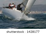 sailing in the mediterranean sea | Shutterstock . vector #1428177