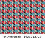poly art grid geometric... | Shutterstock .eps vector #1428213728
