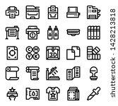 printer and plotter outline...