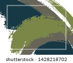 horizontal border with paint... | Shutterstock .eps vector #1428218702