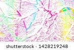winter landscape of snowy tree... | Shutterstock . vector #1428219248
