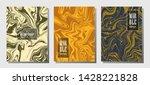 modern marble prints  vector... | Shutterstock .eps vector #1428221828