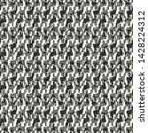 monochrome irregular grain... | Shutterstock .eps vector #1428224312