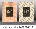ottoman pattern vector cover... | Shutterstock .eps vector #1428224612