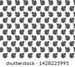seamless tropical leaves... | Shutterstock .eps vector #1428225995
