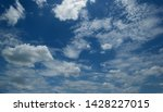 the vast blue sky and clouds sky | Shutterstock . vector #1428227015