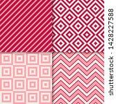 classic geometric patterns... | Shutterstock .eps vector #1428227588