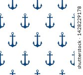 seamless vector pattern with... | Shutterstock .eps vector #1428229178