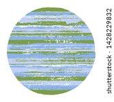 abrupt circle vector geometric... | Shutterstock .eps vector #1428229832
