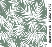 tropical pattern background... | Shutterstock .eps vector #1428246092