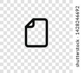 file icon from miscellaneous...   Shutterstock .eps vector #1428246692