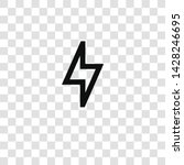 bolt icon from miscellaneous...   Shutterstock .eps vector #1428246695