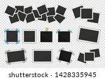 photo frames pack. square frame ... | Shutterstock .eps vector #1428335945