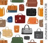 man bag vector men fashion... | Shutterstock .eps vector #1428356738