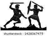 Two Mythological Heroes ...