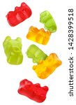 Flying Colorful Jelly Gummy...