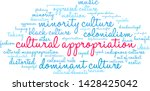 cultural appropriation word... | Shutterstock .eps vector #1428425042