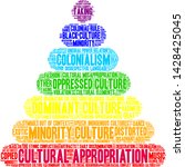 cultural appropriation word... | Shutterstock .eps vector #1428425045