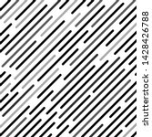 abstract black lines on a white ...   Shutterstock .eps vector #1428426788