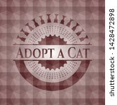 adopt a cat red seamless... | Shutterstock .eps vector #1428472898