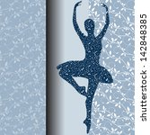 Ballet Design Card Vector...