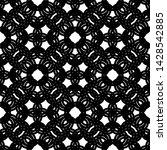 design seamless monochrome... | Shutterstock .eps vector #1428542885