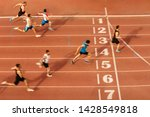 Finish Line Man Runners...