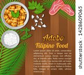 food ingredients elements set...   Shutterstock .eps vector #1428609065