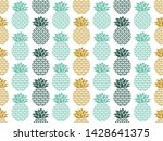 tropical pattern. exotic fruits ...   Shutterstock .eps vector #1428641375