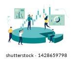 vector illustration  concept of ... | Shutterstock .eps vector #1428659798