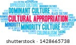 cultural appropriation word... | Shutterstock .eps vector #1428665738