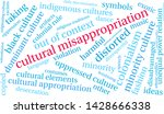 cultural misappropriation word... | Shutterstock .eps vector #1428666338